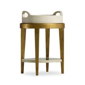 Hamilton Home Mélange Gilded Accent Table