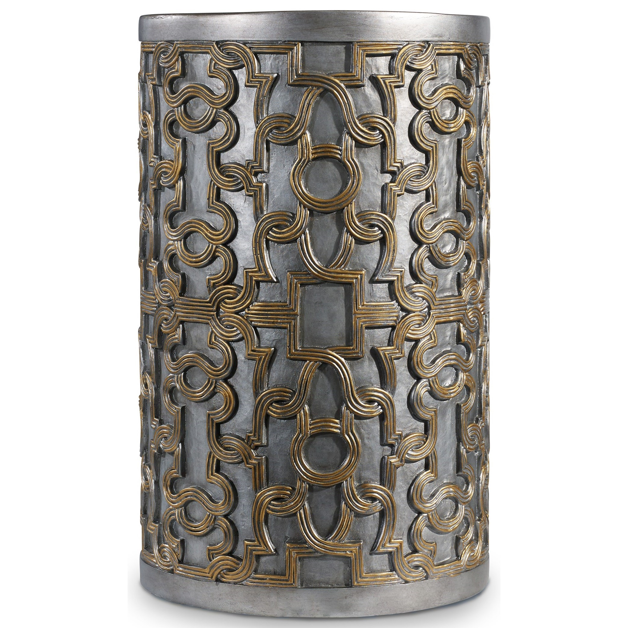 Mélange Gia Drum Table by Hooker Furniture at Stoney Creek Furniture