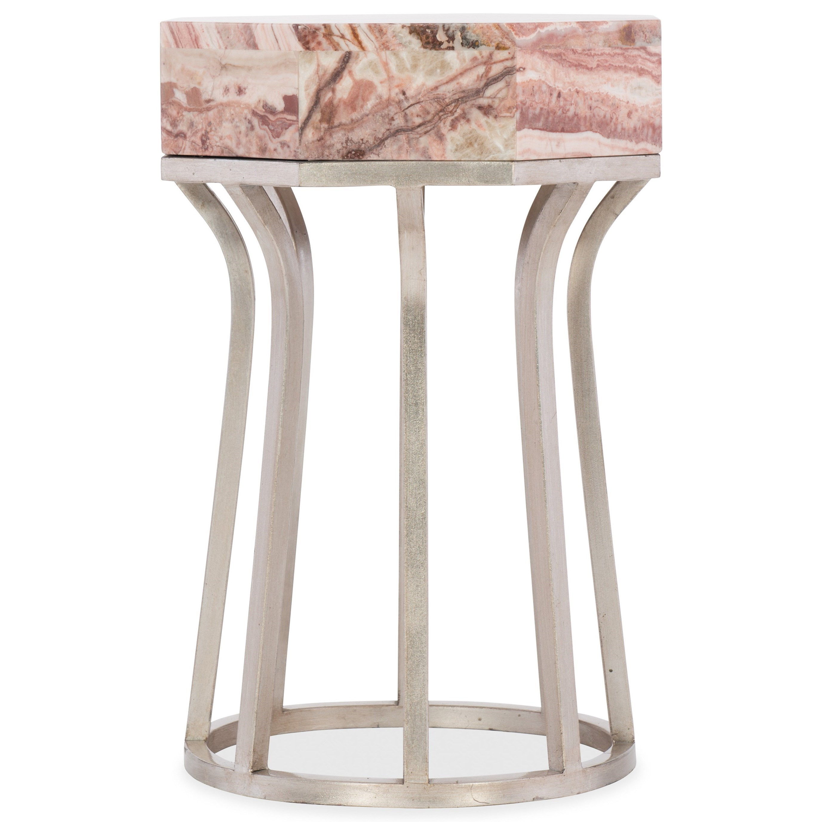 Melange Mary End Table