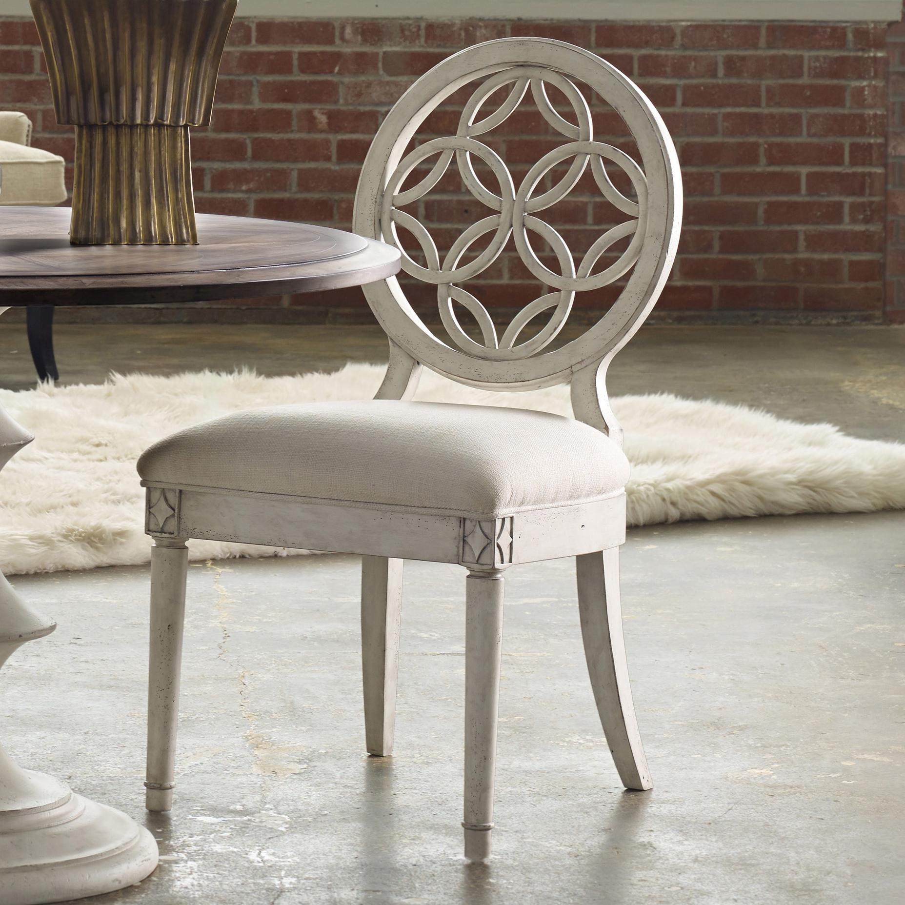 Hooker Furniture Mélange Brynlee Side Chair - Item Number: 638-75006