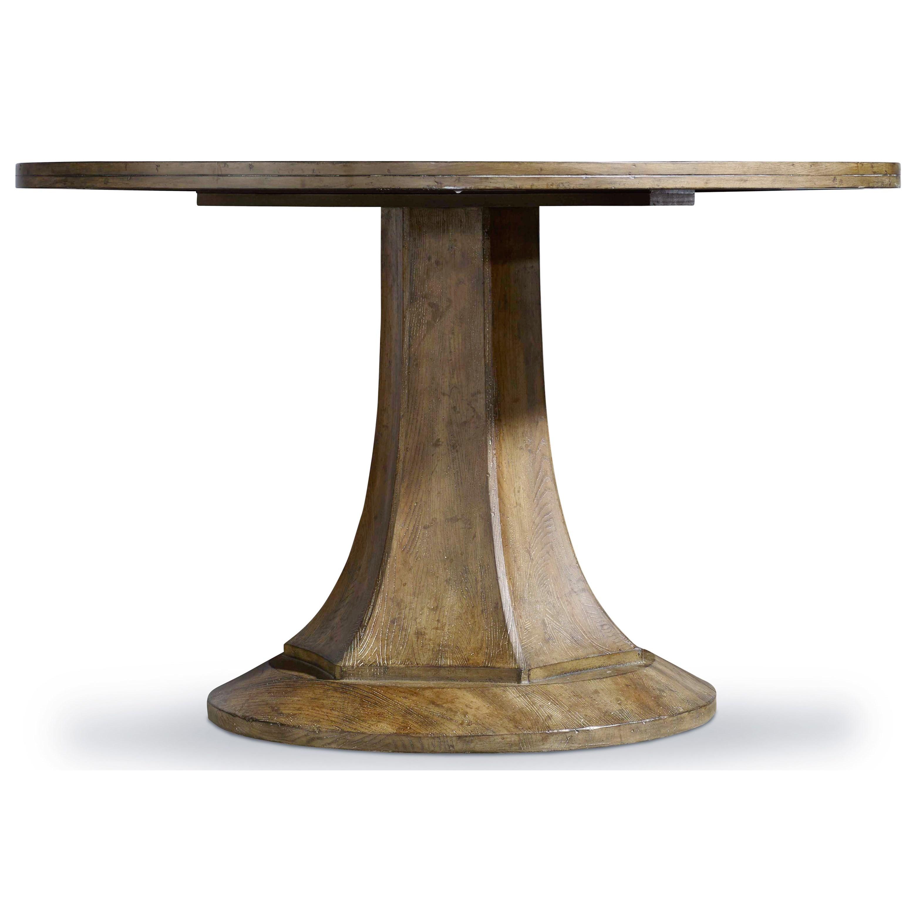 Hooker Furniture Mélange Barrett Round Dining Table - Item Number: 638-75130