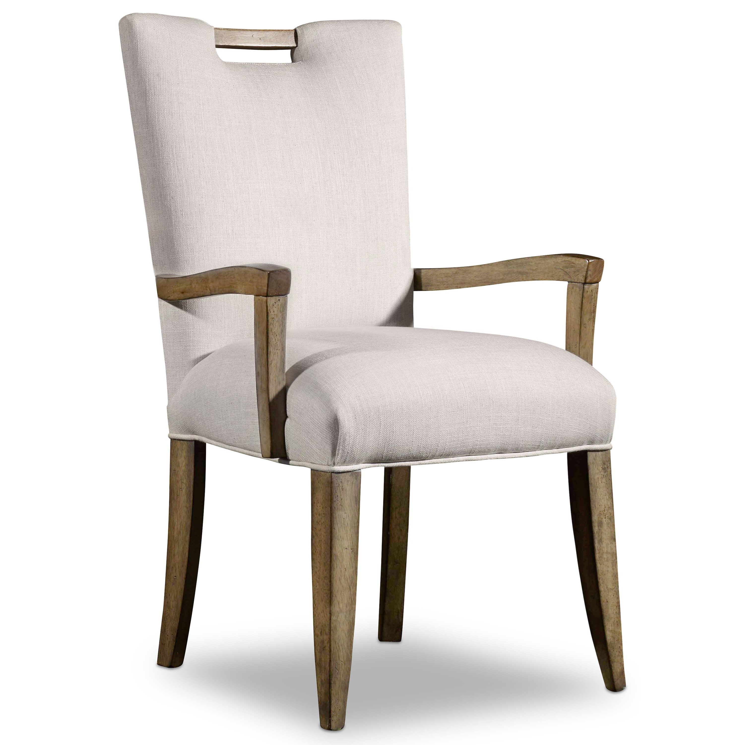 Hooker Furniture Mélange Barrett Upholstered Arm Chair - Item Number: 638-75134