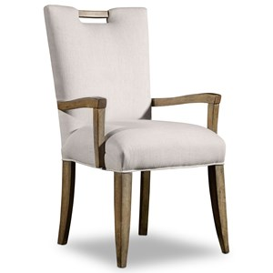 Hooker Furniture Mélange Barrett Upholstered Arm Chair