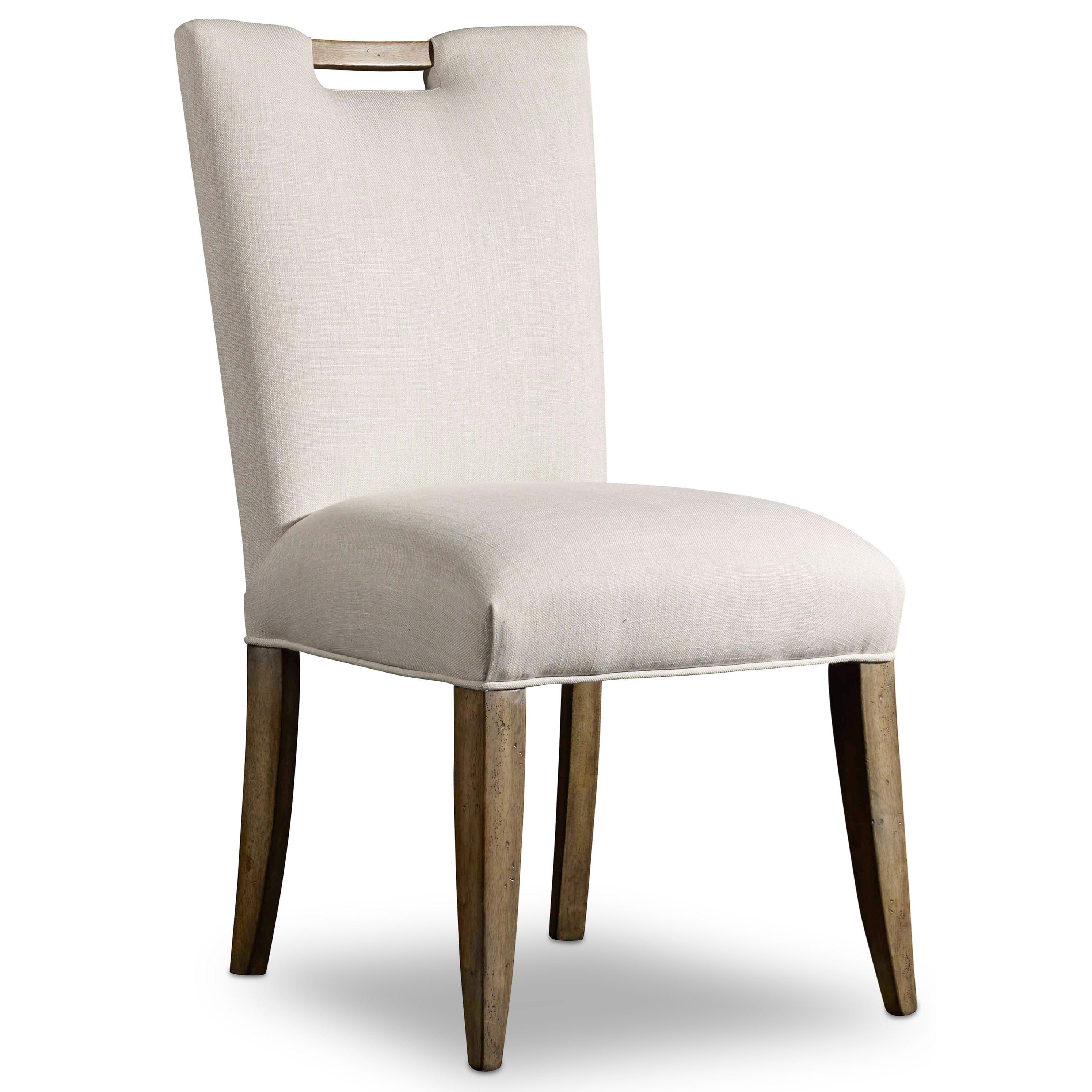 Hooker Furniture Mélange Barrett Upholstered Side Chair - Item Number: 638-75135