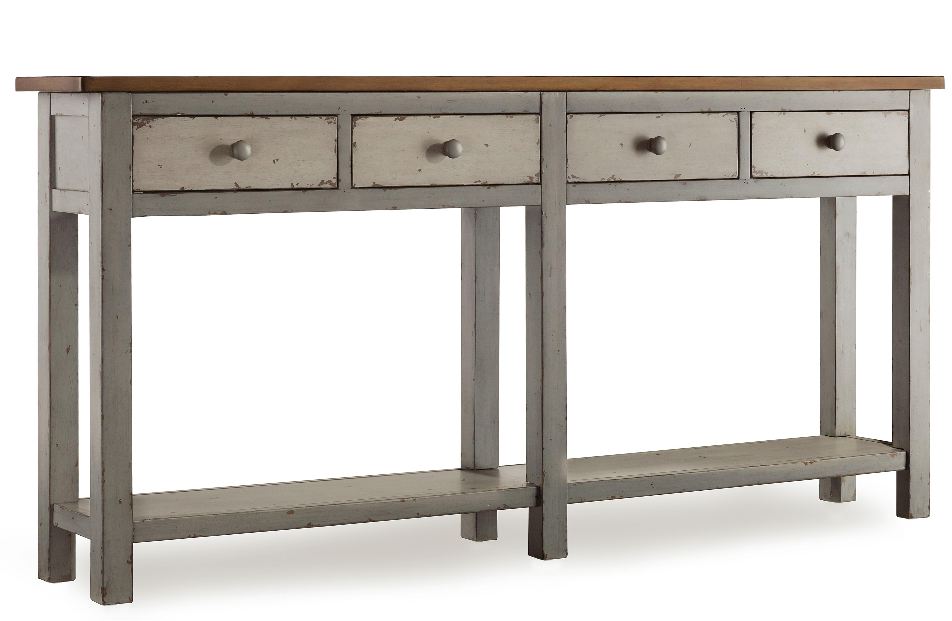 Hooker Furniture Mélange Ramsay Hall Console - Item Number: 638-85002