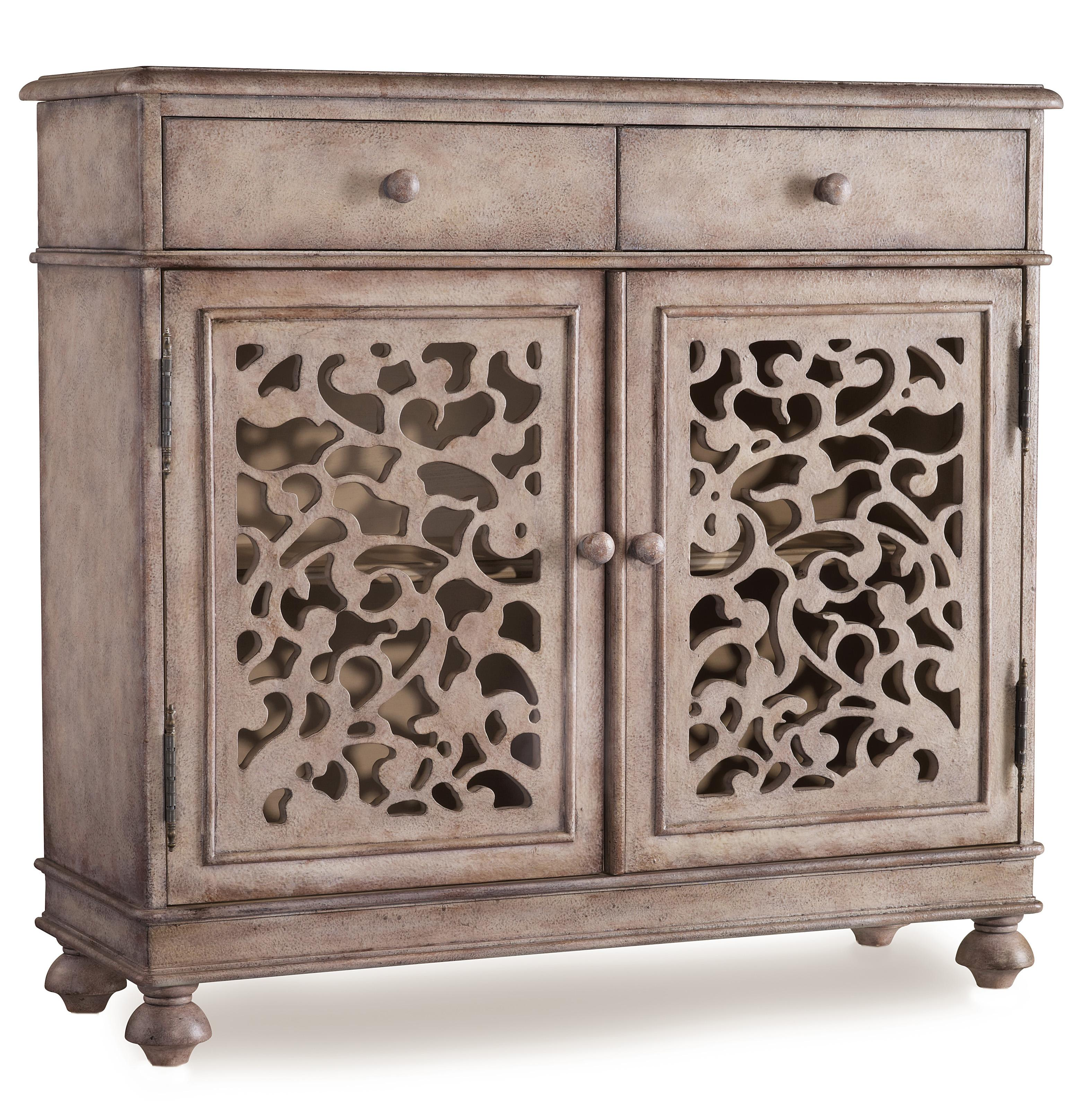 Hooker Furniture Mélange Filigree Hall Chest - Item Number: 638-85004