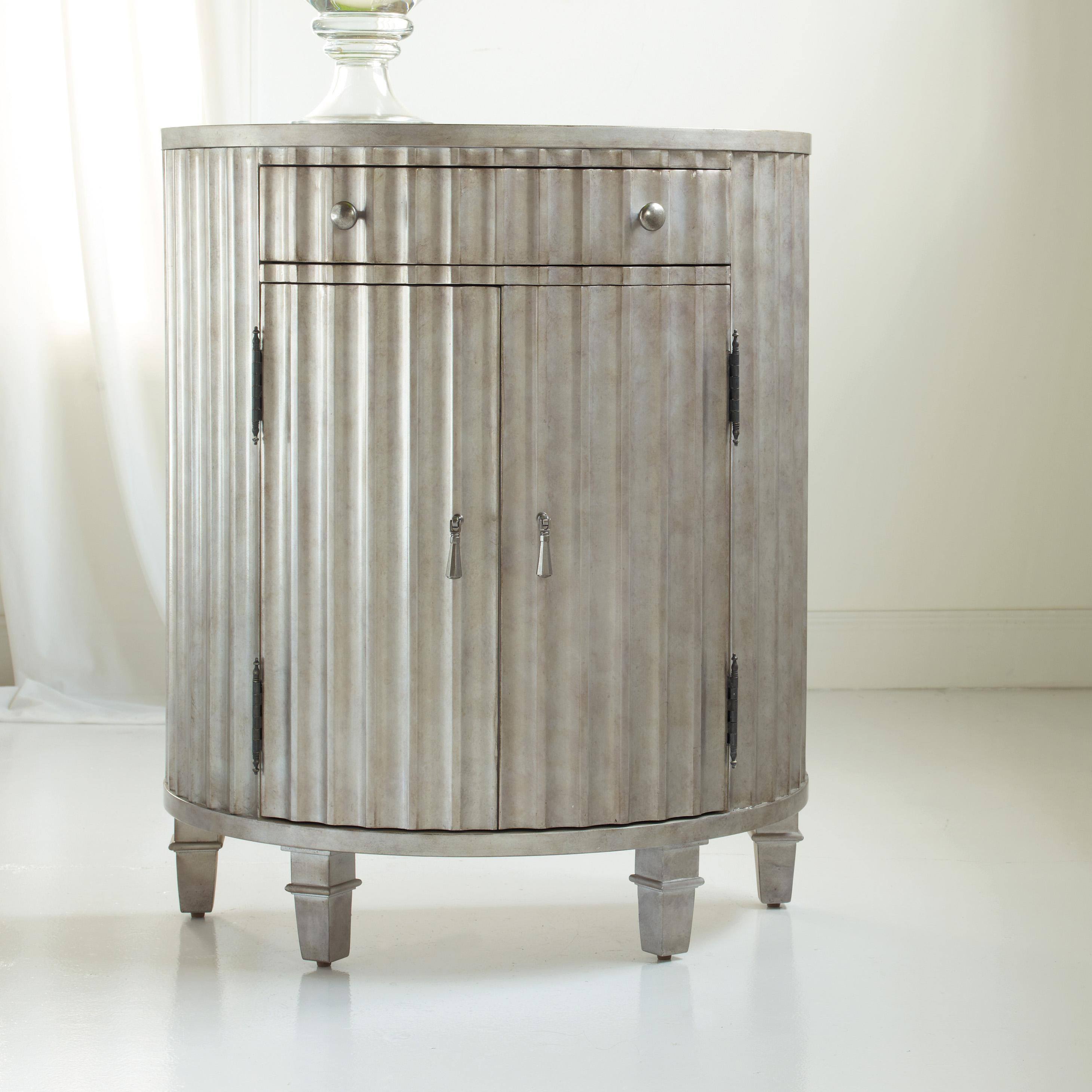 Mélange Fluted Demi Chest by Hooker Furniture at Stoney Creek Furniture