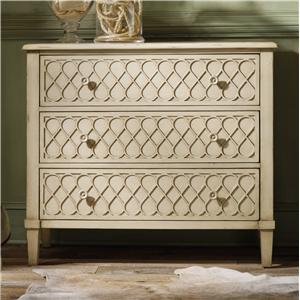 Hooker Furniture Mélange Raised Lattice Front Chest