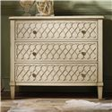 Hooker Furniture Mélange Raised Lattice Front Chest - Item Number: 638-85017
