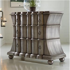 Hooker Furniture Mélange Zinc Scalloped Drawer Chest