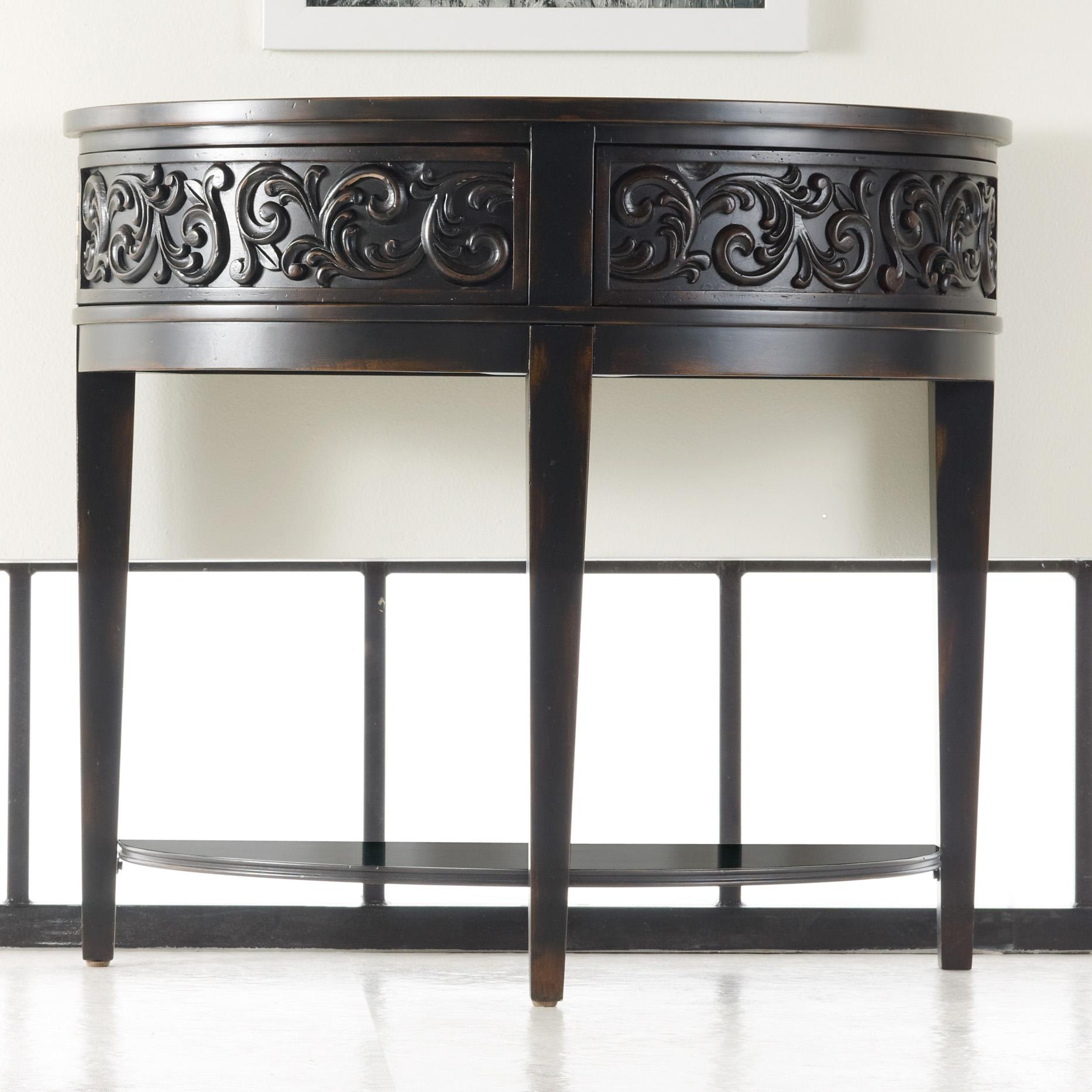 Hooker Furniture Mélange Damasque Demi Console - Item Number: 638-85027