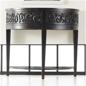 Damasque Demi Console