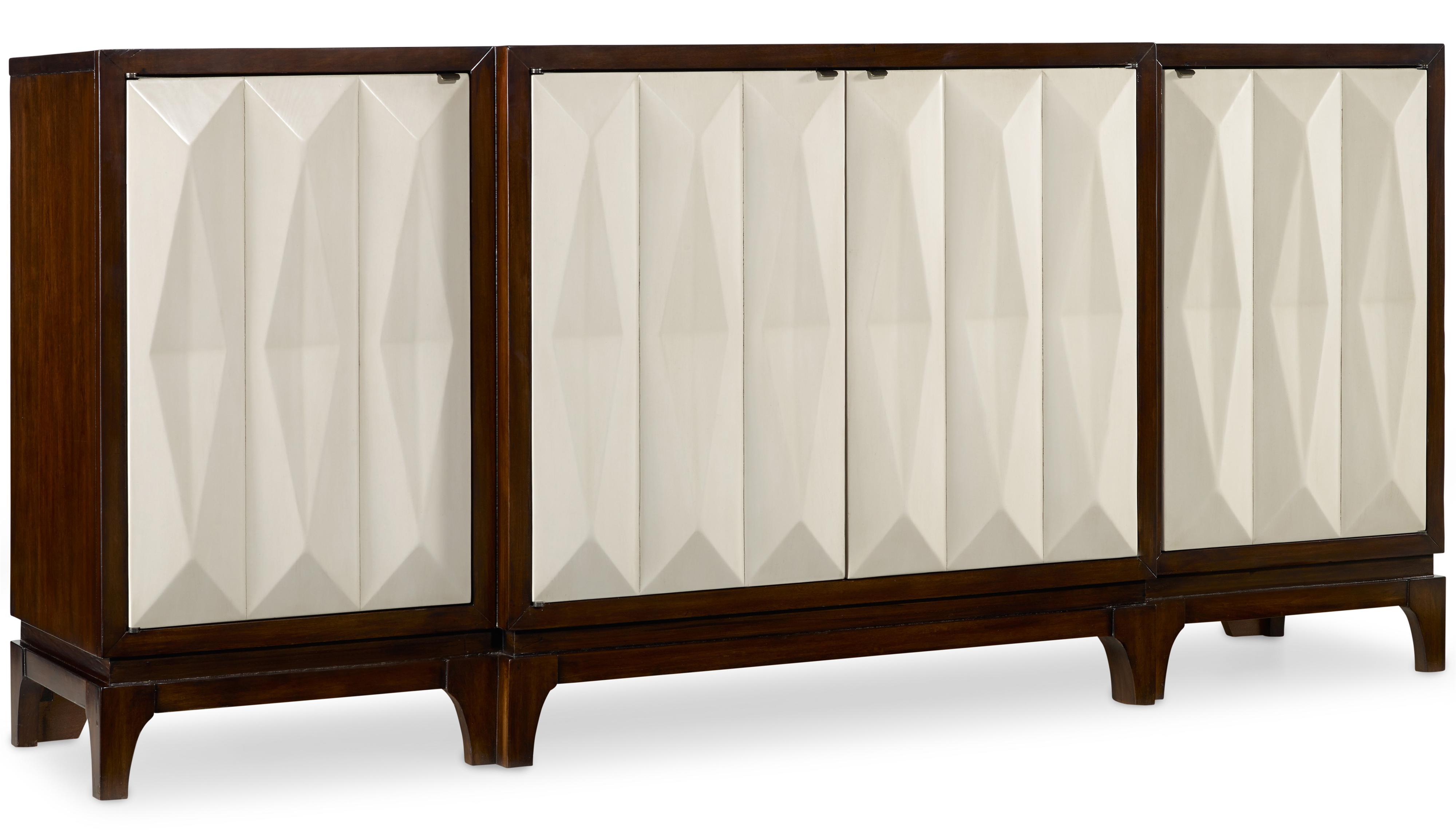 Hooker Furniture Mélange Traviata Credenza - Item Number: 638-85088