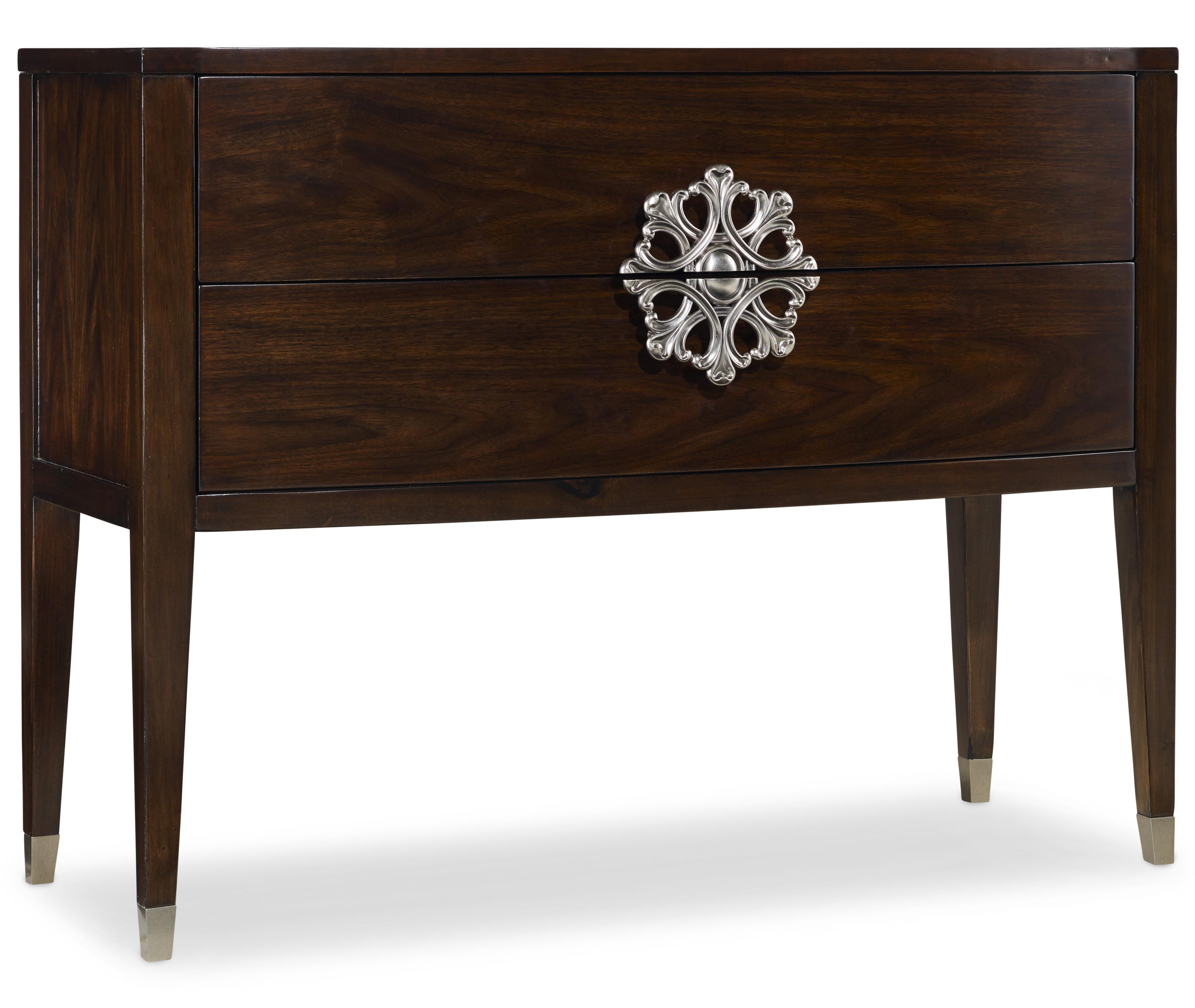 Mélange Medallion Console by Hooker Furniture at Stoney Creek Furniture