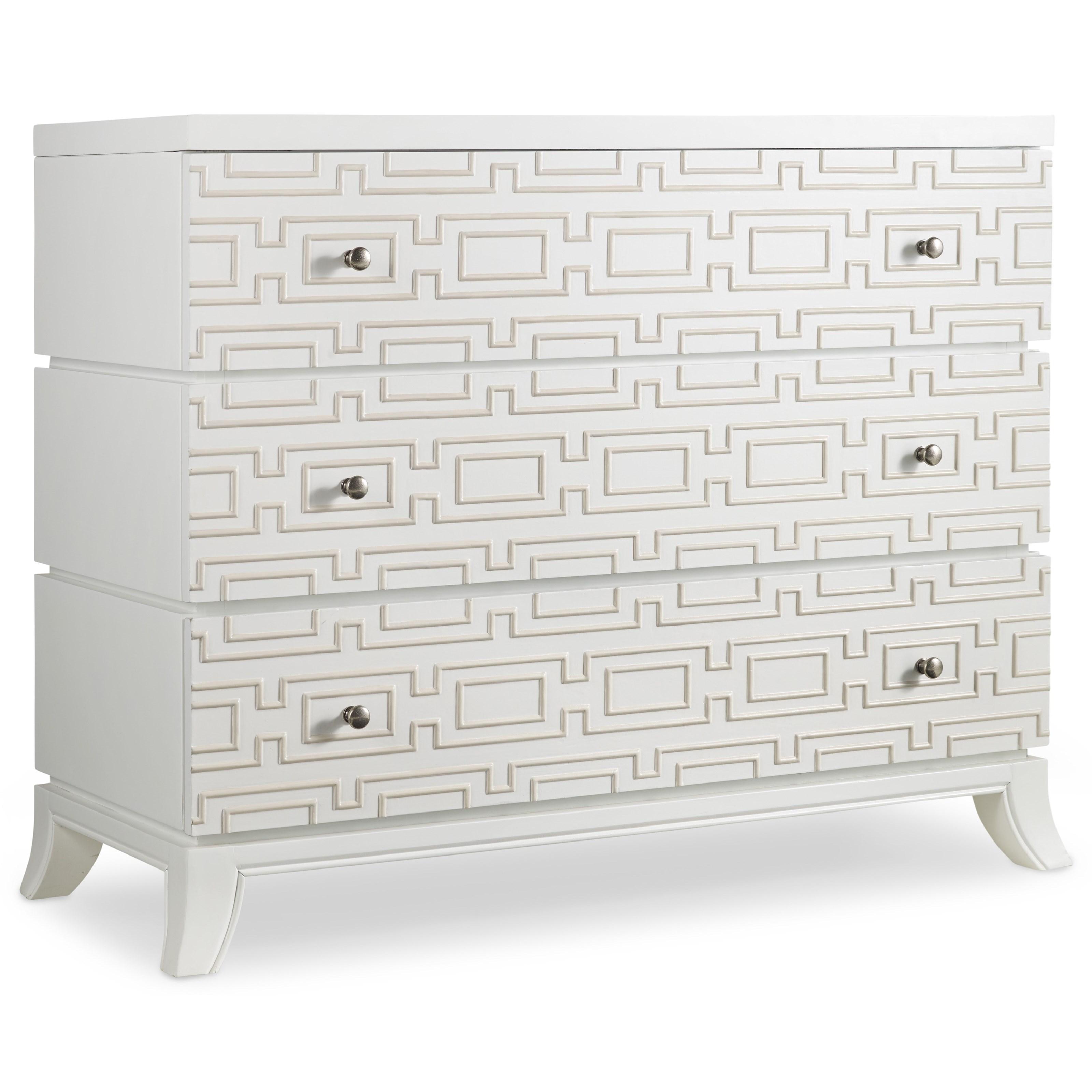 Hooker Furniture Mélange Descanso Chest - Item Number: 638-85098