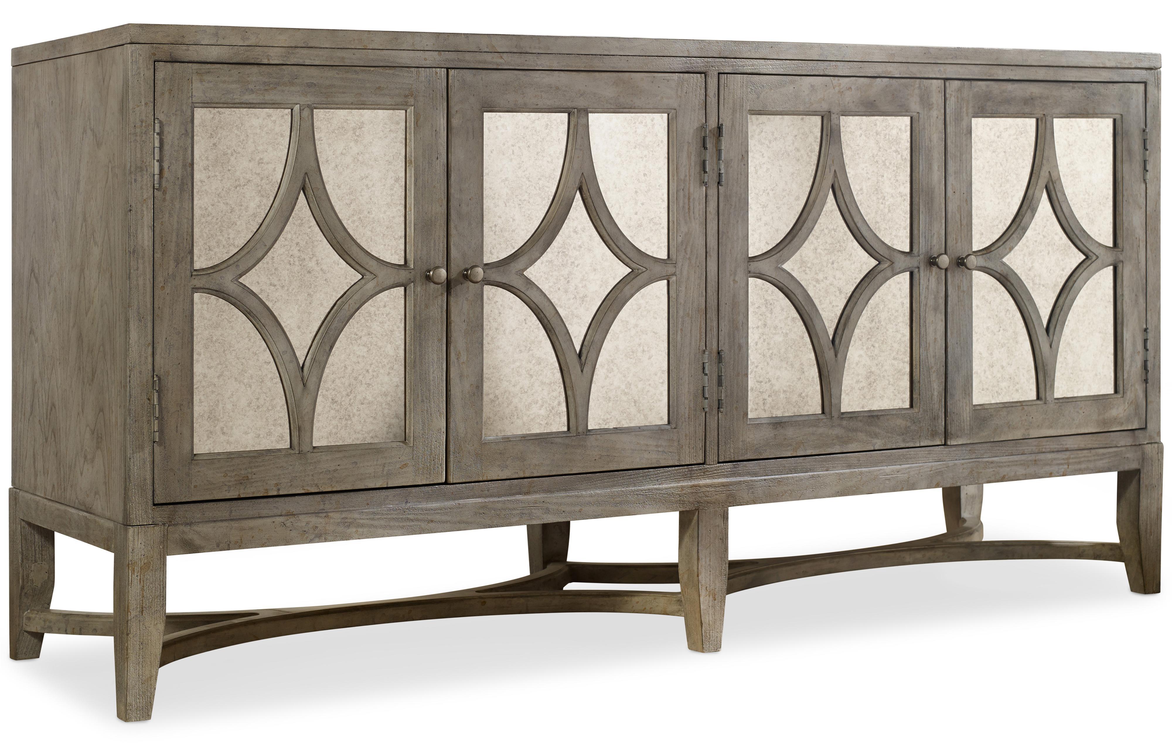 Hooker Furniture Mélange Diamante Console - Item Number: 638-85102
