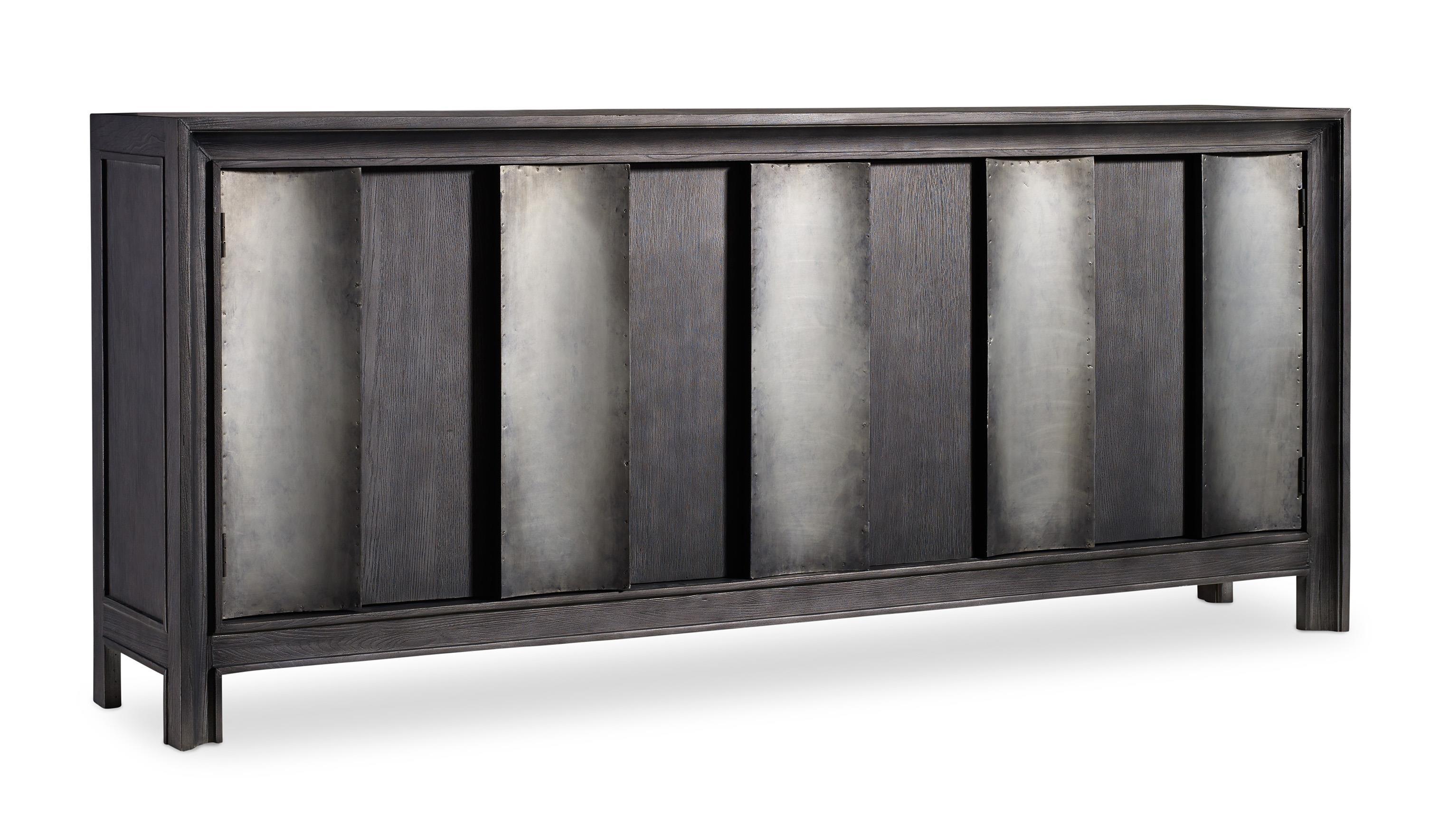 Hooker Furniture Mélange Channeled Console - Item Number: 638-85127