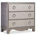 Hooker Furniture Mélange Semblance Chest with Robus Leather