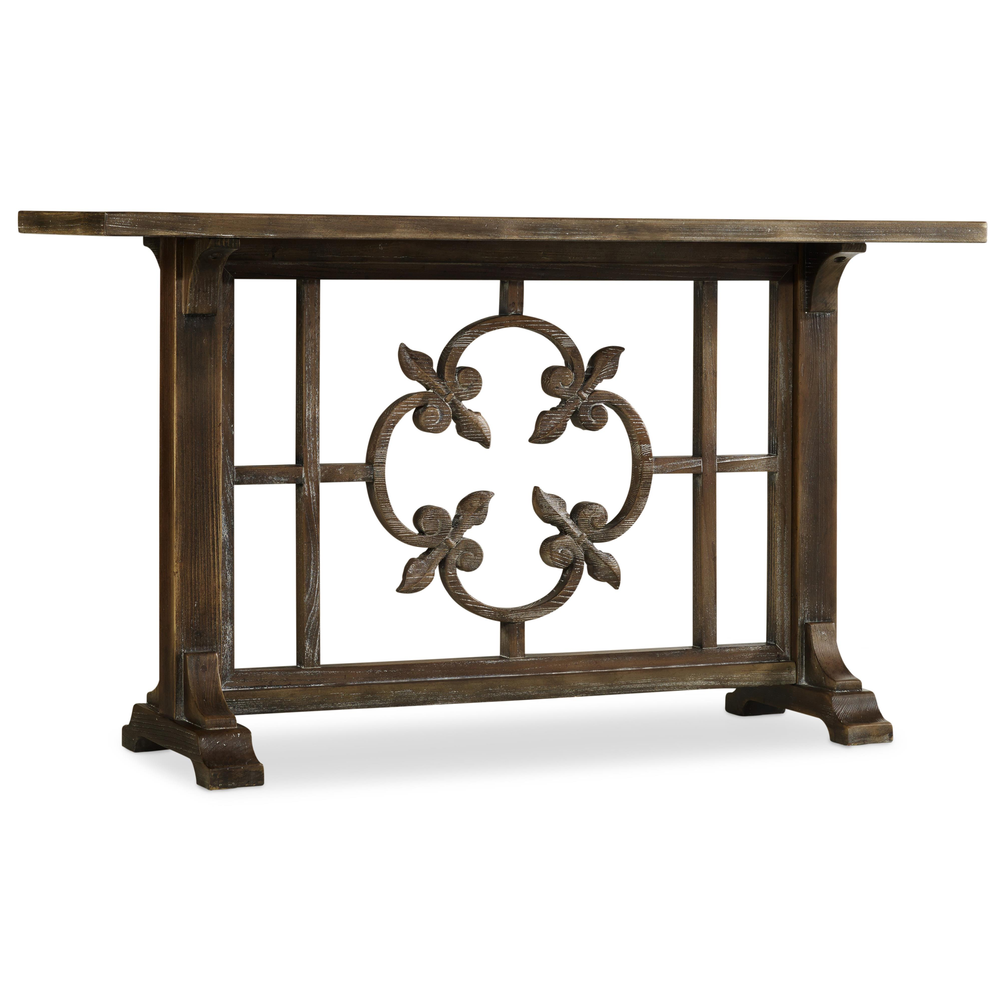 Hooker Furniture Mélange Cora Console - Item Number: 638-85153