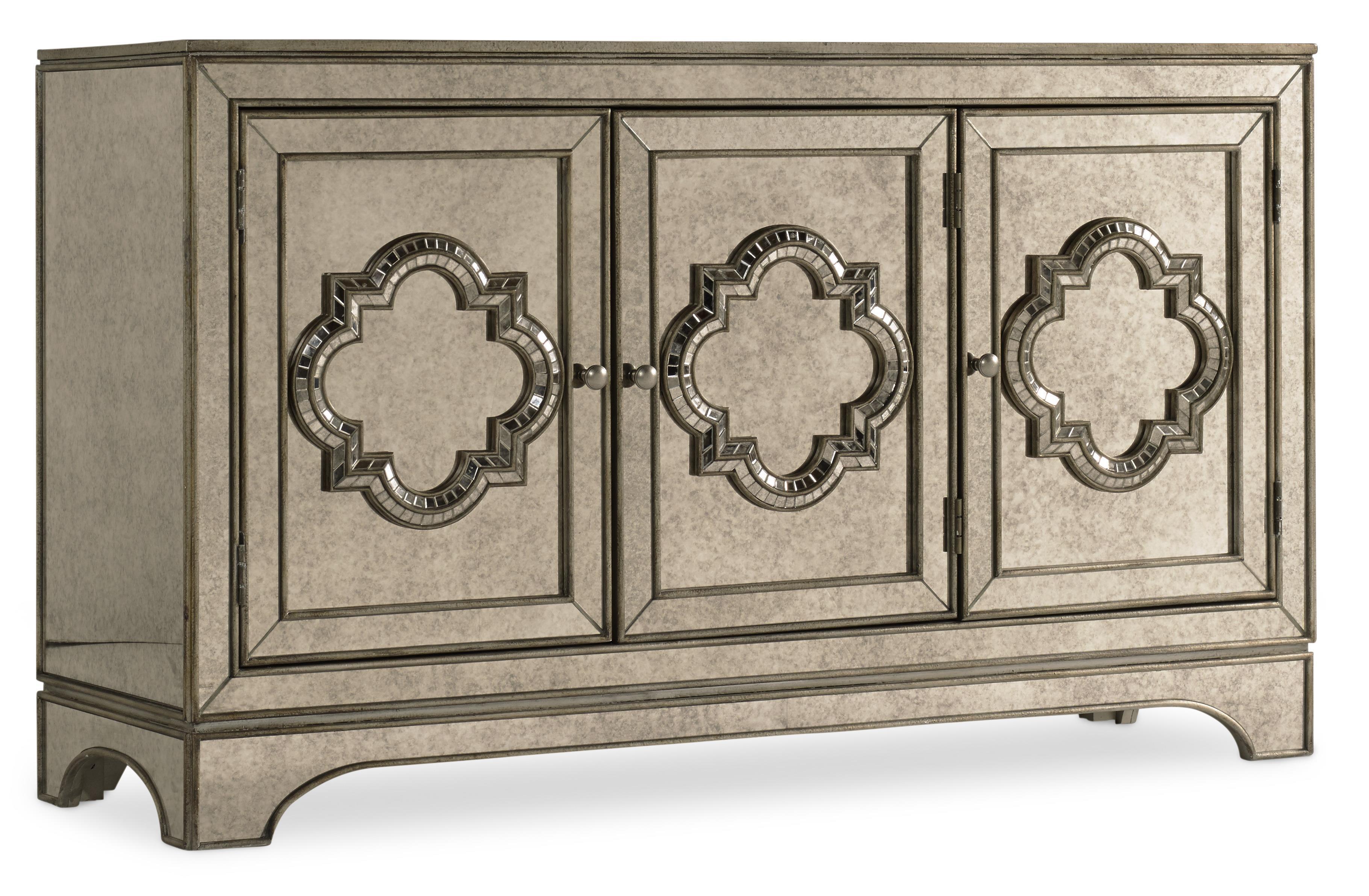 Hooker Furniture Mélange City Lights Console - Item Number: 638-85155