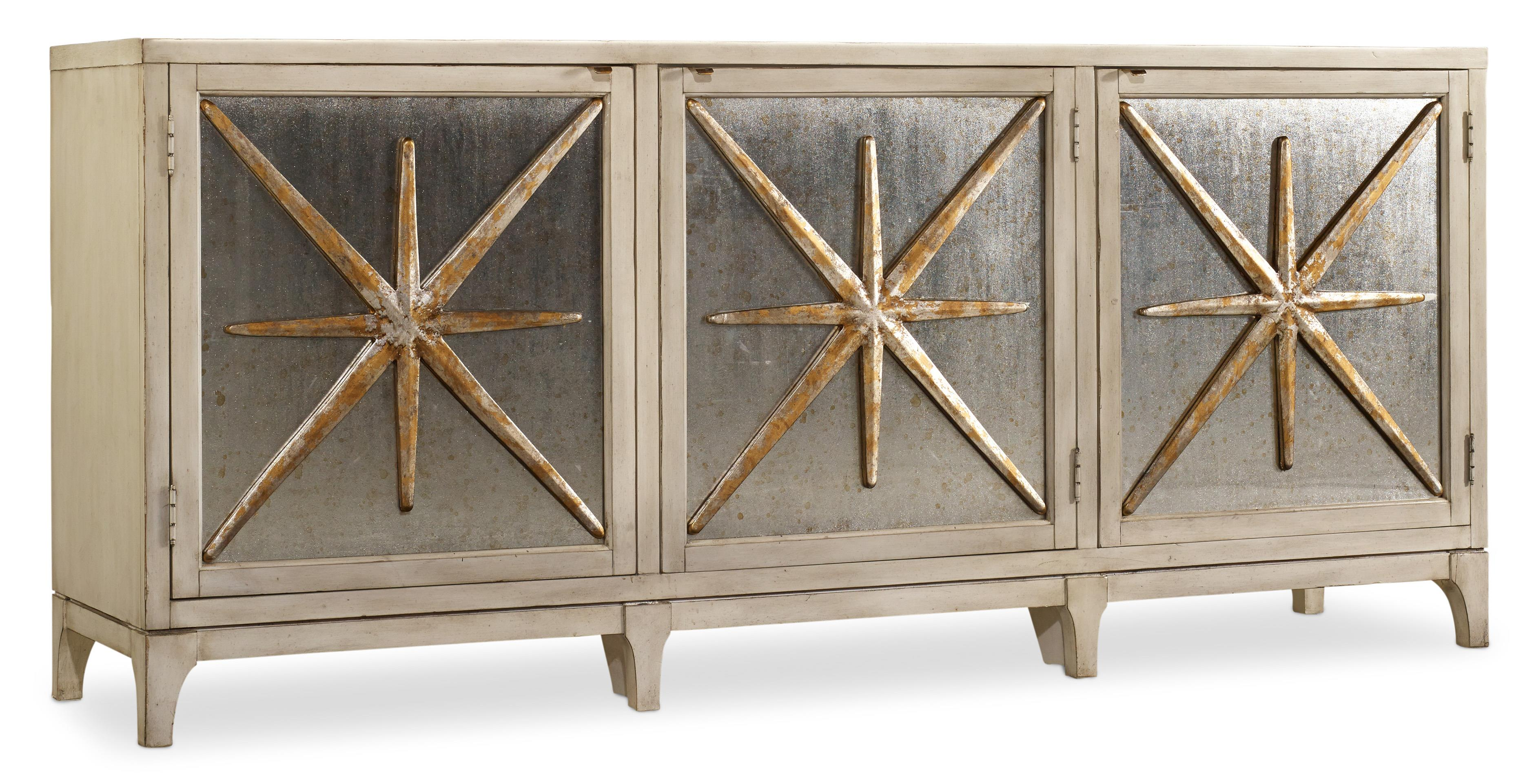 Hooker Furniture Mélange Star Power Console - Item Number: 638-85163