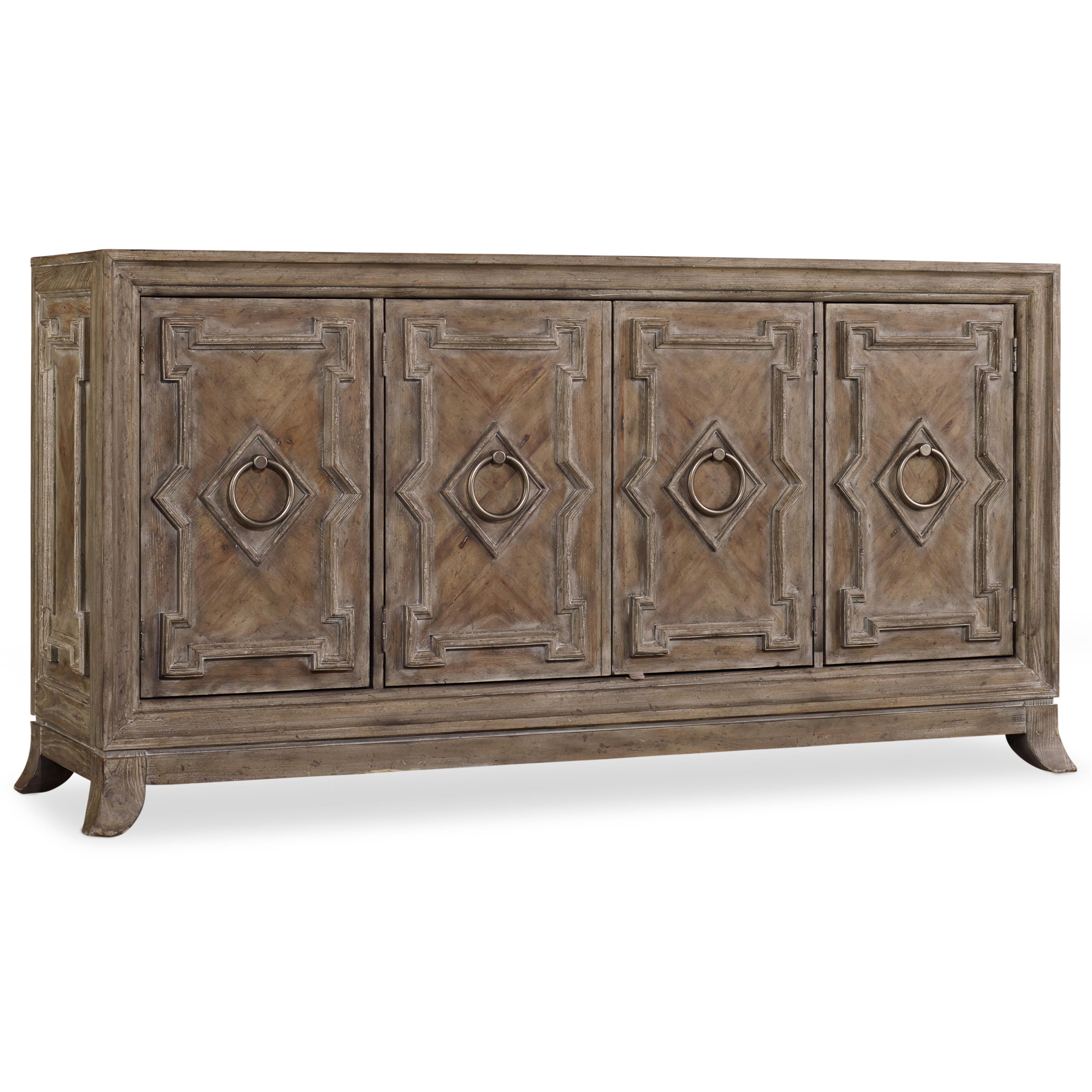 Hooker Furniture Mélange Pravara Console - Item Number: 638-85166