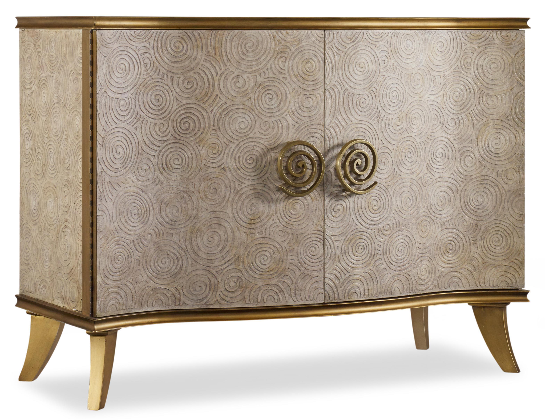 Hooker Furniture Mélange Golden Swirl Chest - Item Number: 638-85167