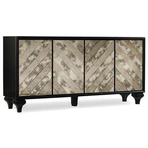 Hooker Furniture Mélange Mirrored Angle Console