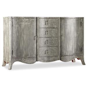 Hooker Furniture Mélange ZigZag Painted Chest