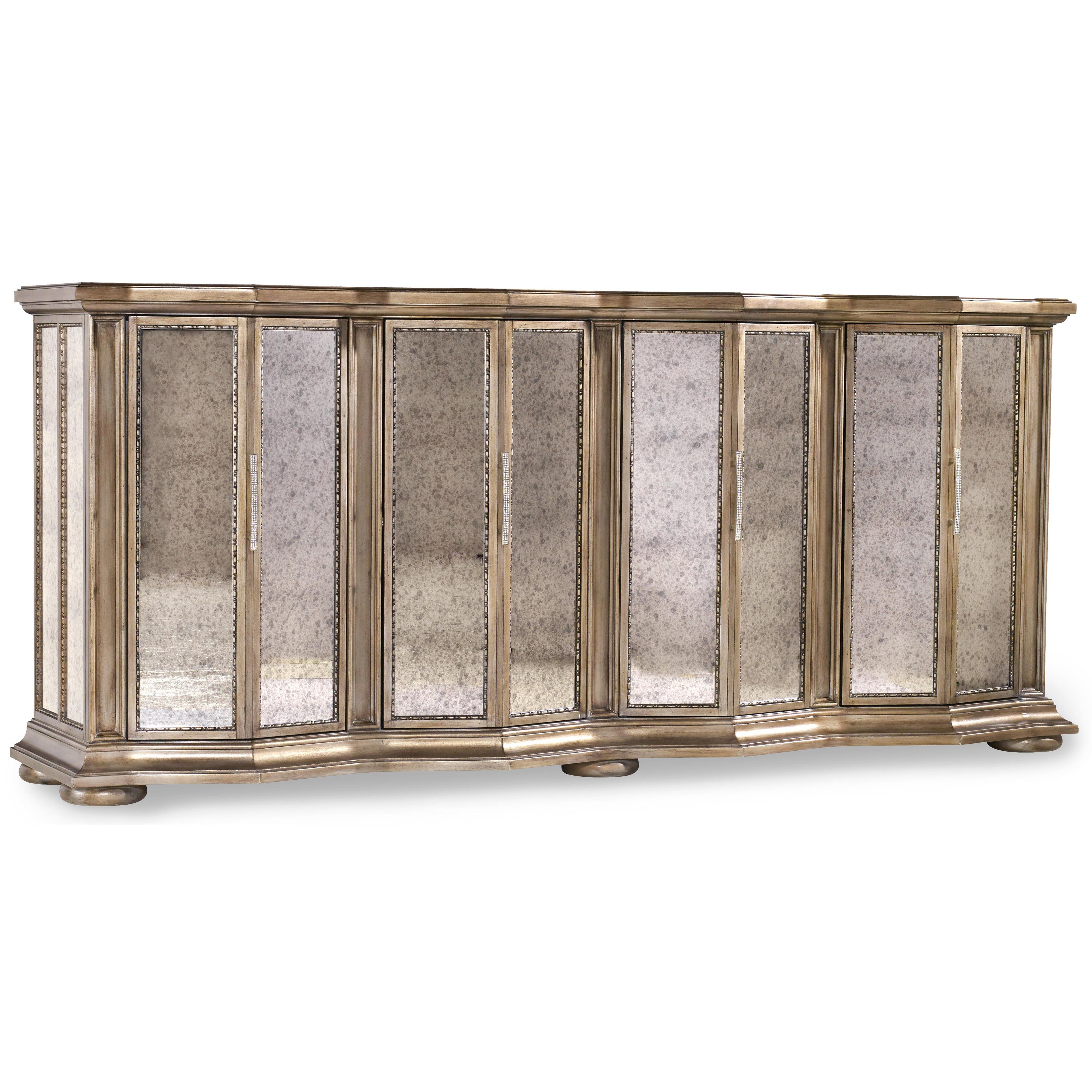 Hooker Furniture Mélange Majesty Credenza - Item Number: 638-85196