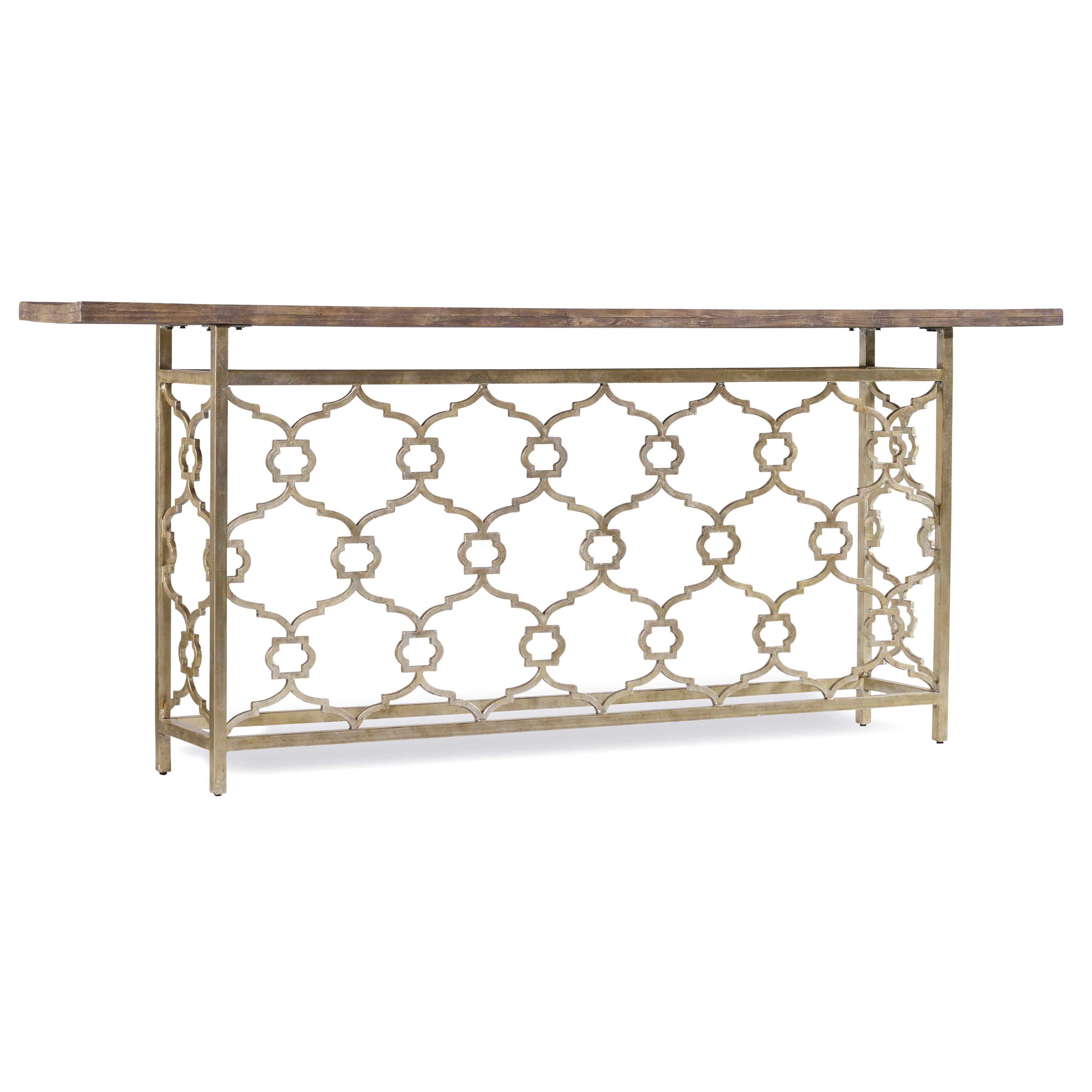 Hooker Furniture Mélange Landon Hall Console - Item Number: 638-85201