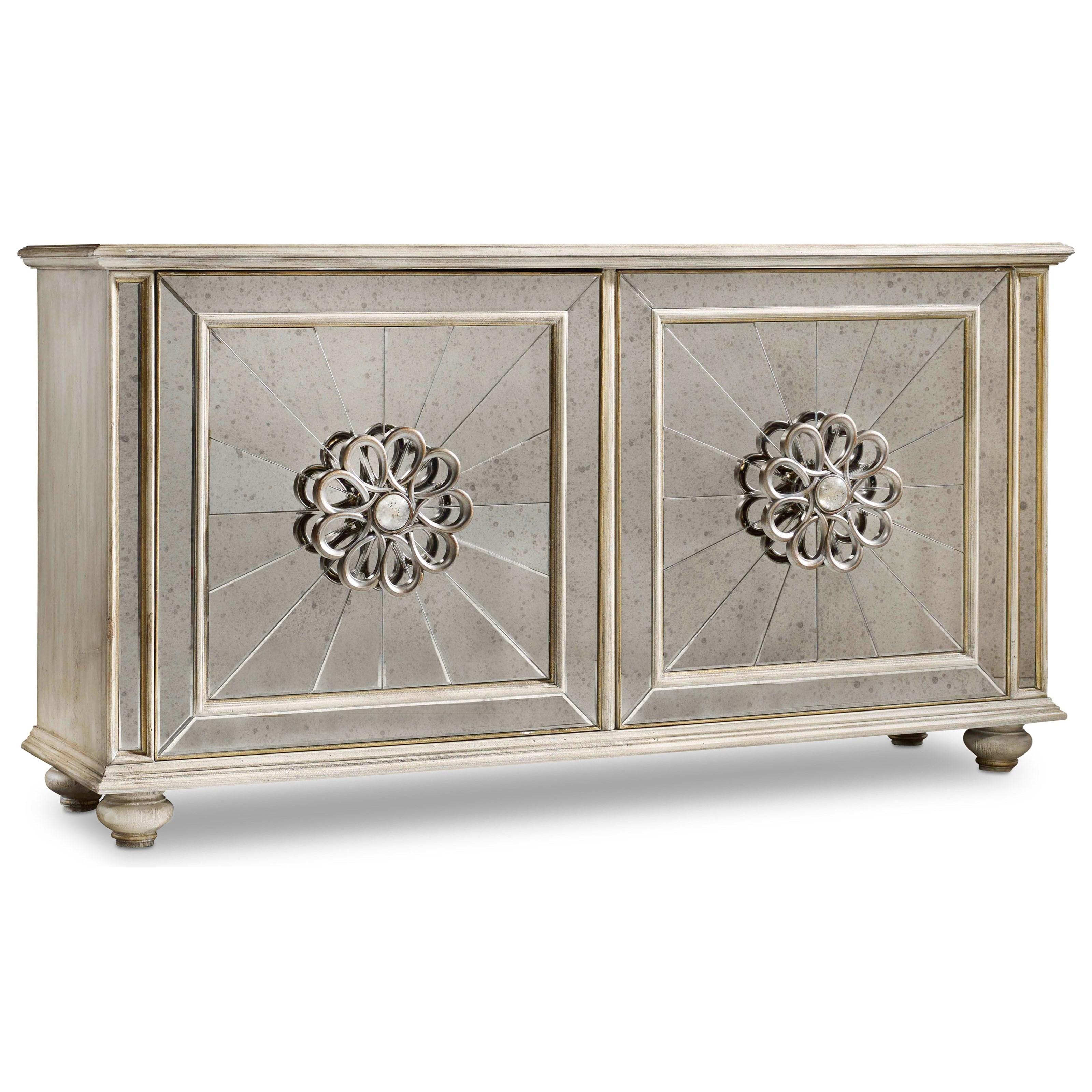 Hooker Furniture Mélange Mesmerize Credenza - Item Number: 638-85217