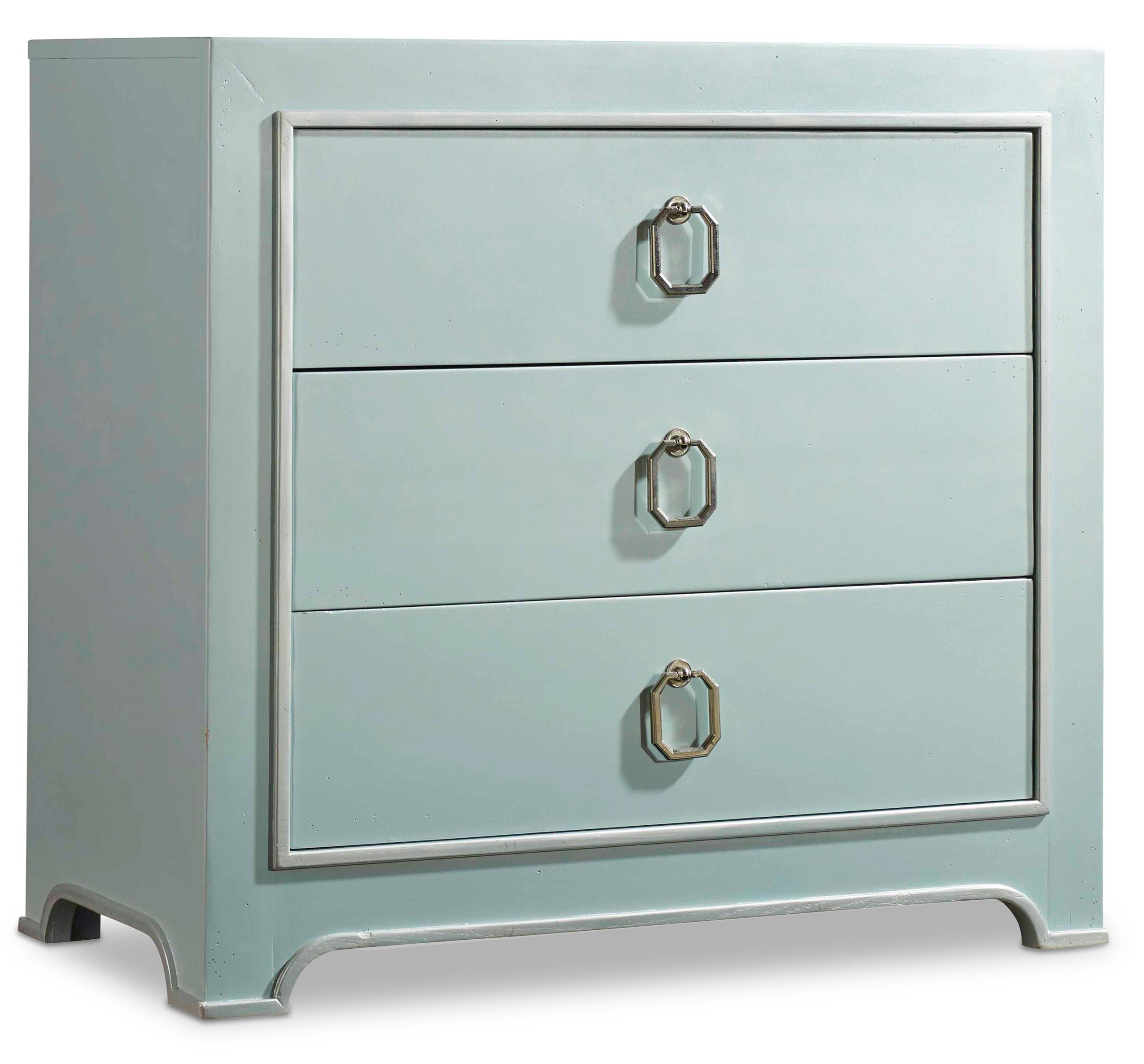 Hooker Furniture Mélange Lia Drawer Chest - Item Number: 638-85232