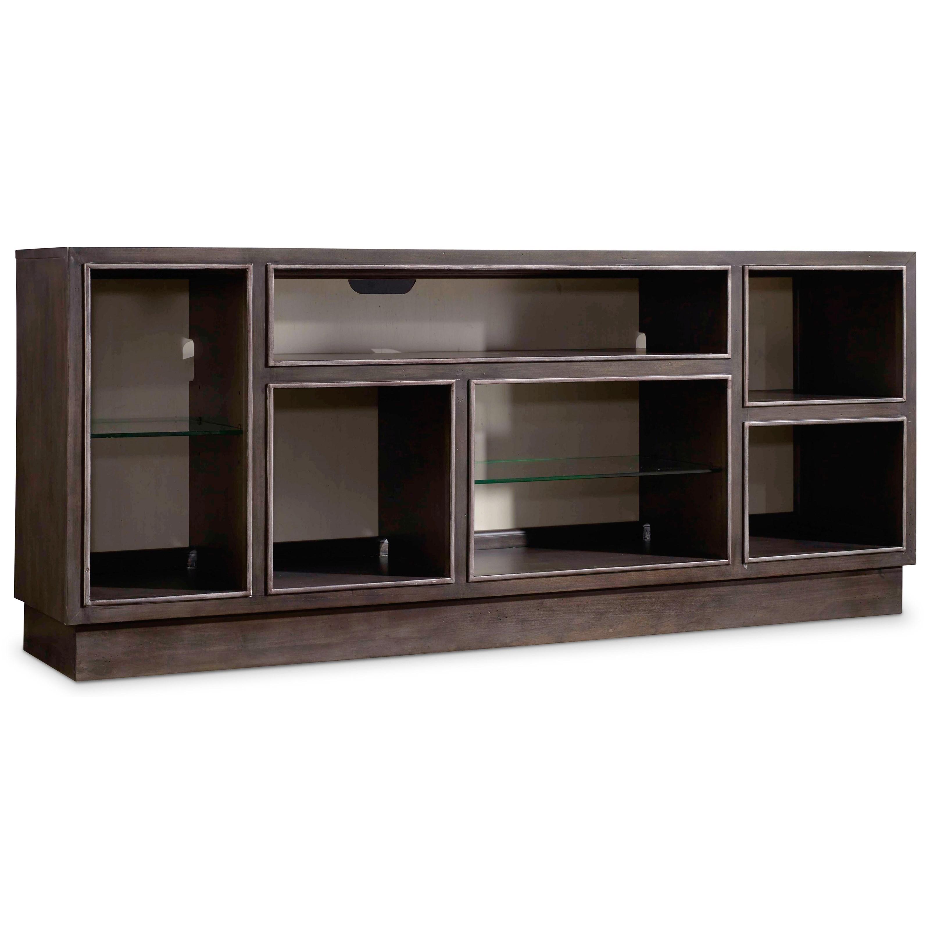 Hooker Furniture Mélange Newell Display Cabinet - Item Number: 638-85237