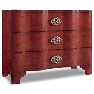 Hooker Furniture Mélange Saffron Crackle Chest