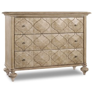 Hooker Furniture Mélange Em Three-Drawer Chest