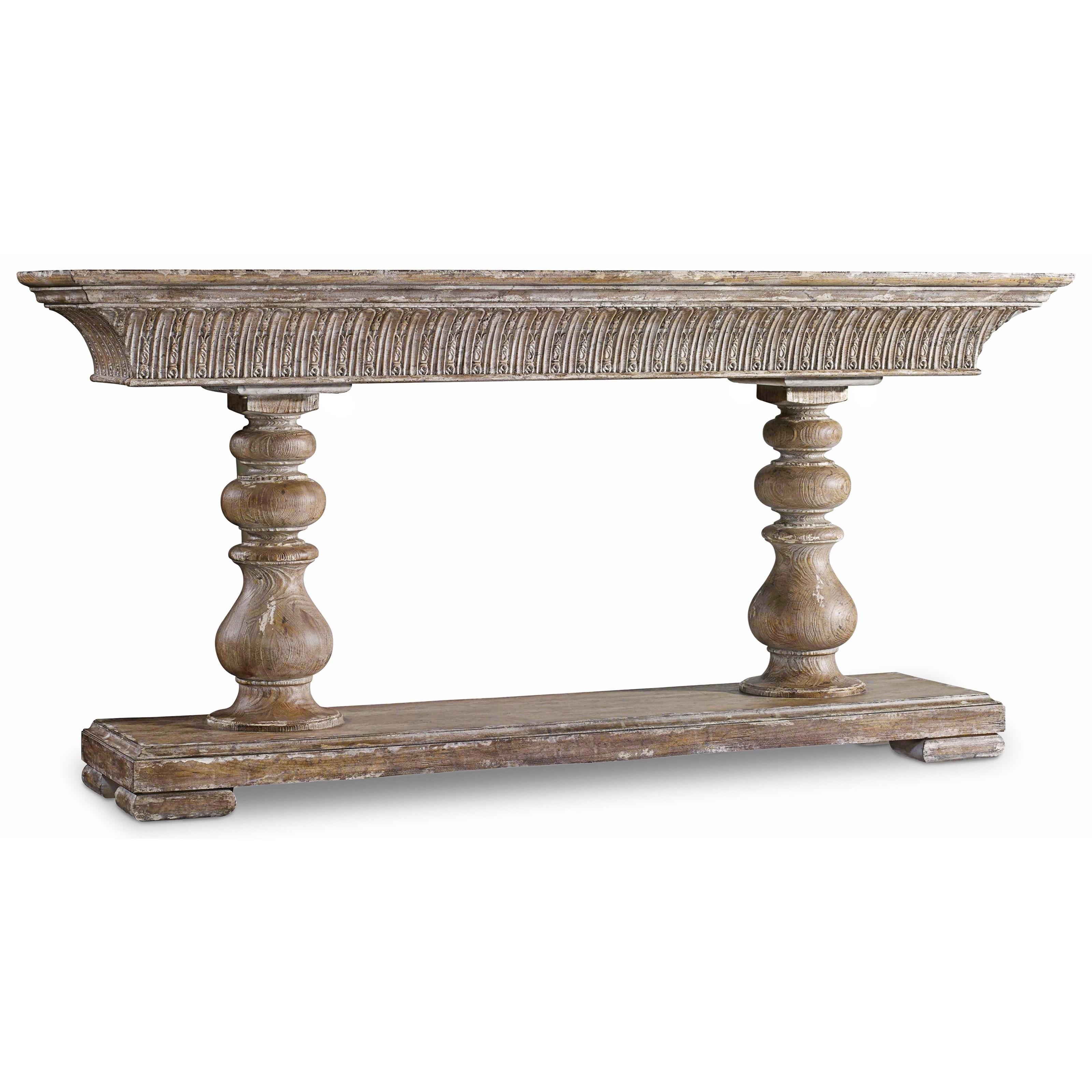 Hooker Furniture Mélange Mulberry Console - Item Number: 638-85265-LTBR