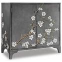 Hooker Furniture Mélange In Bloom Door Chest - Item Number: 638-85271-GRY