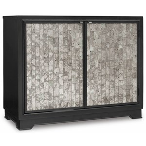 Hooker Furniture Mélange Jett Cut Glass Chest