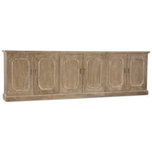 Hooker Furniture Mélange Emporia Six-Door Credenza