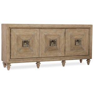 Hooker Furniture Mélange Paramount Three-Door Credenza