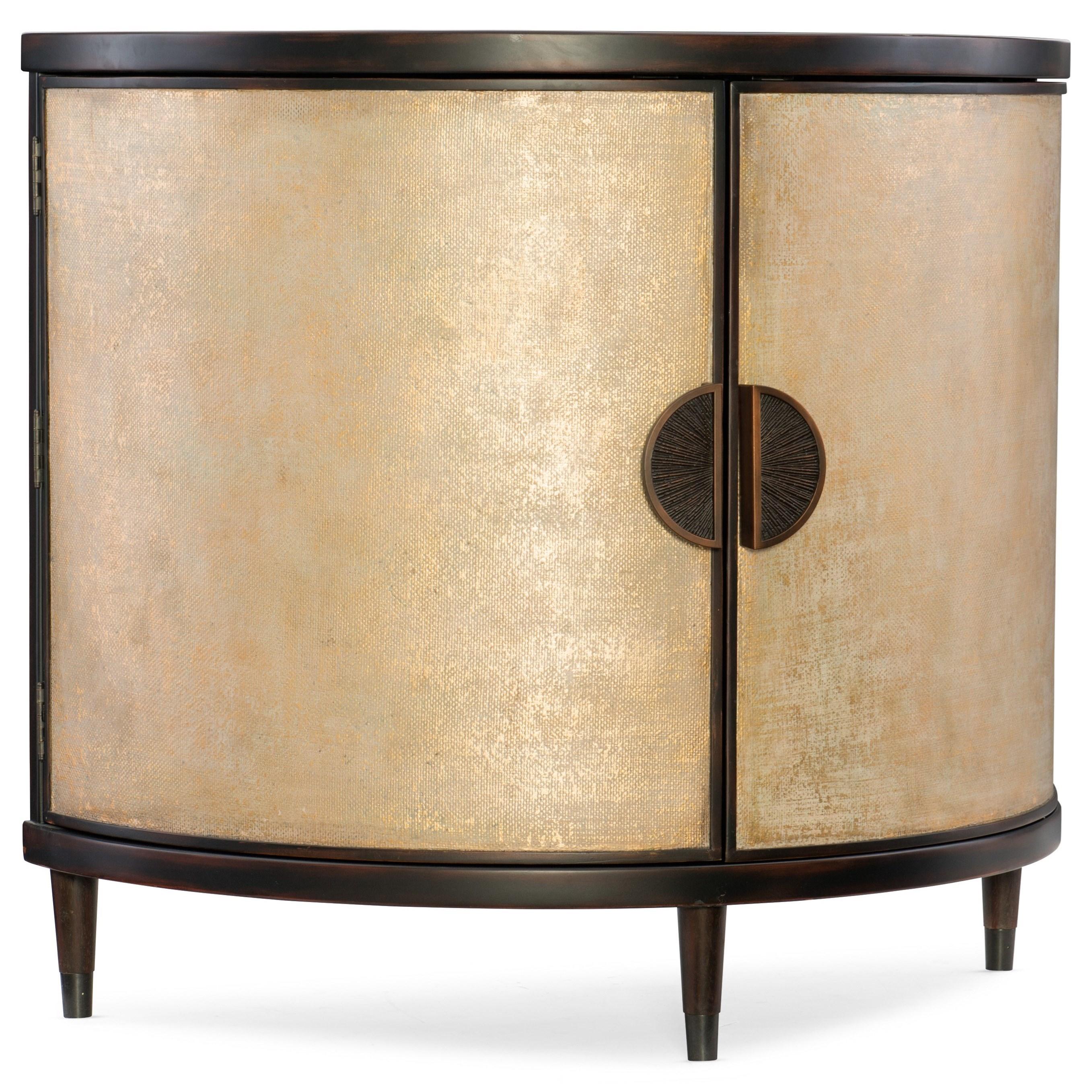 Mélange Em Demilune Accent Chest by Hooker Furniture at Stoney Creek Furniture