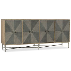 Hooker Furniture Mélange Zola Four-Door Credenza