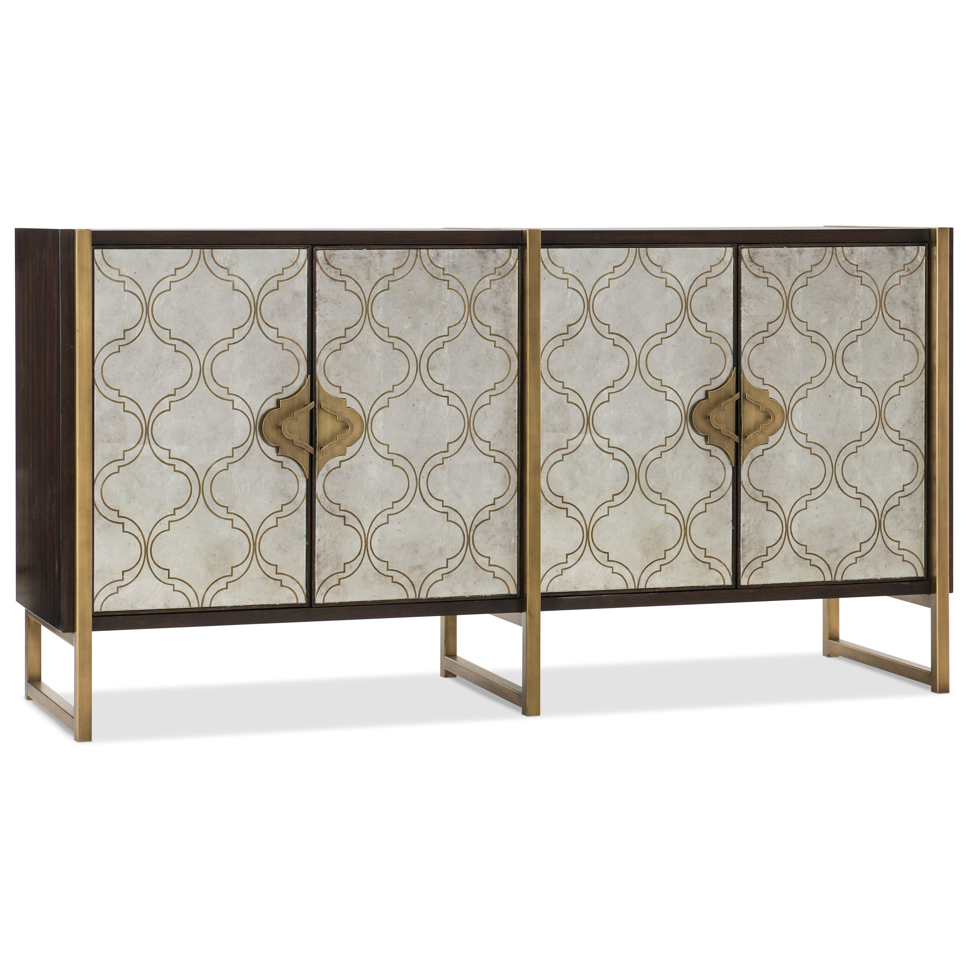 Melange Classic Credenza by Hooker Furniture at Stoney Creek Furniture