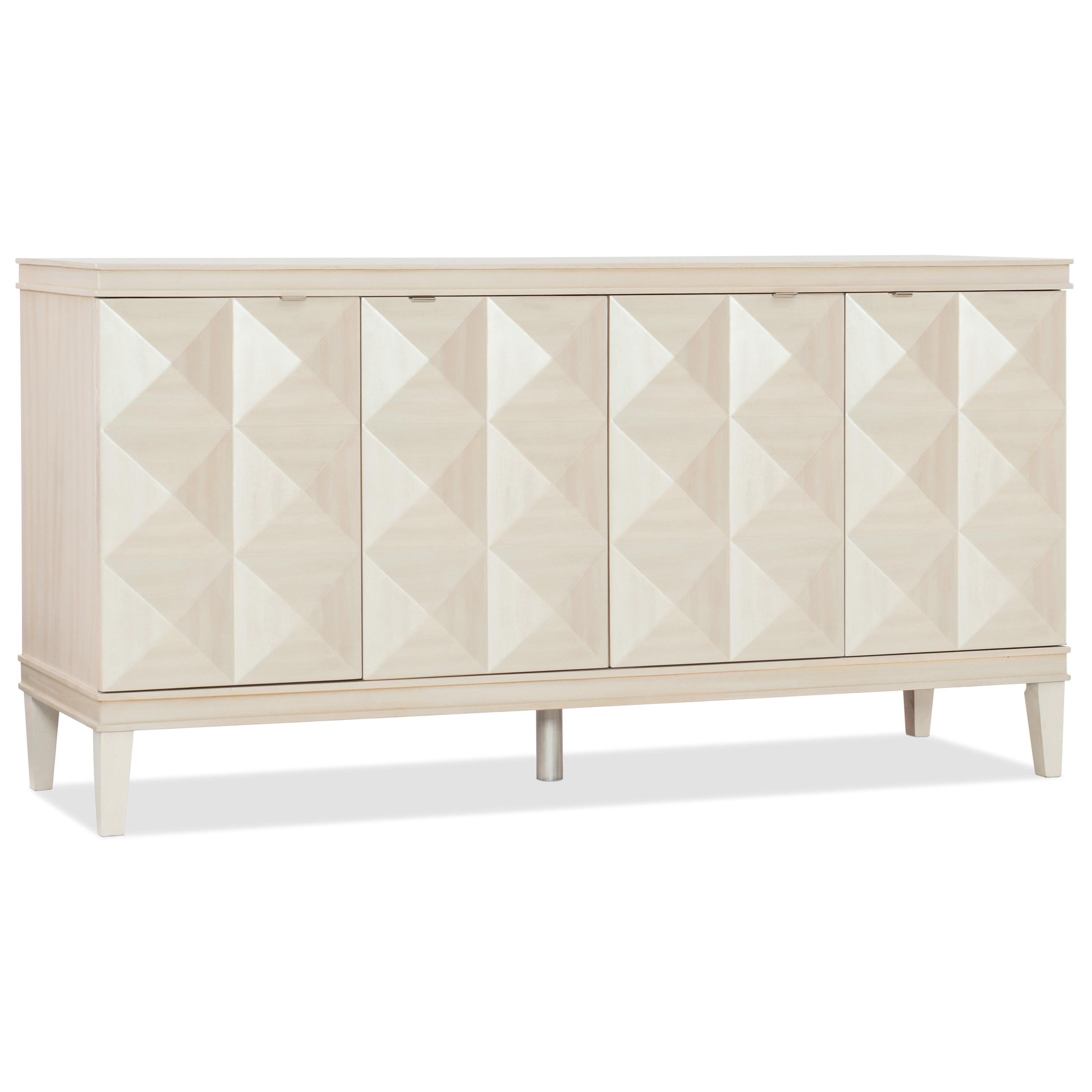 Melange Jinxie Credenza by Hooker Furniture at Baer's Furniture