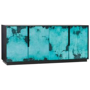 Hooker Furniture Melange Sideboard with Vellum Inlay