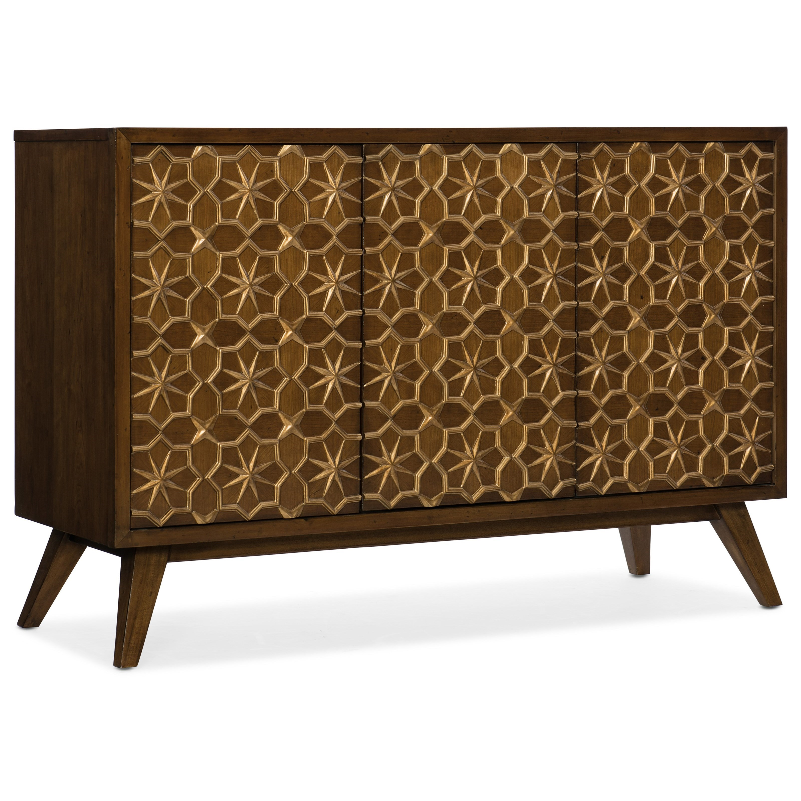 Melange Traveler Credenza by Hooker Furniture at Stoney Creek Furniture