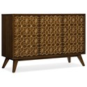 Hooker Furniture Melange Traveler Credenza - Item Number: 638-85438-MWD