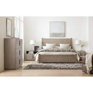 Hooker Furniture Miramar - Carmel Queen Bedroom Group