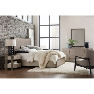 Hooker Furniture Miramar - Carmel King Bedroom Group